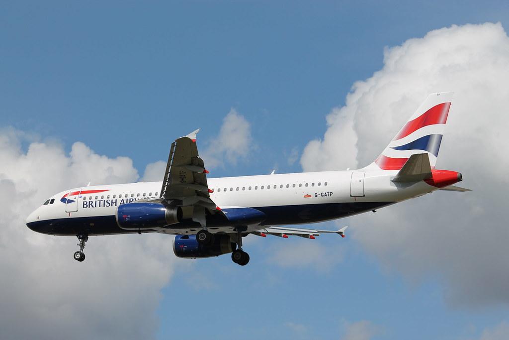 G-GATP - A320 - British Airways