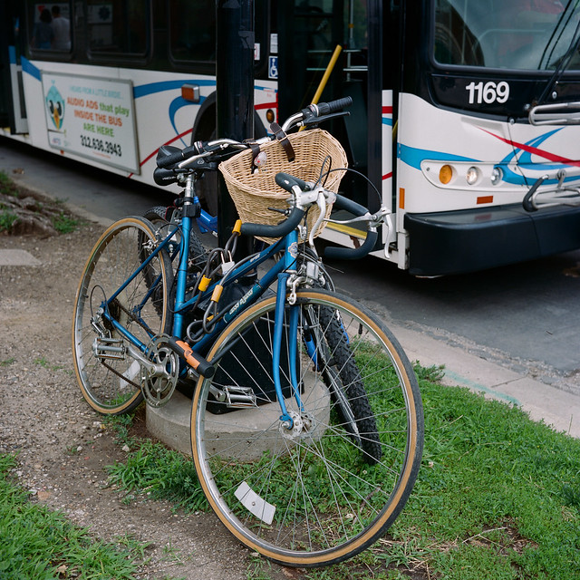 Bikes and Bus