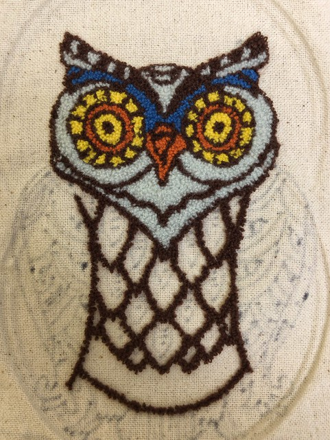Punch Needle Owl (Front)