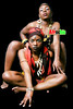 AFROCHIC DUO THEZ n PRISCY by AFROCHIC ebony photography