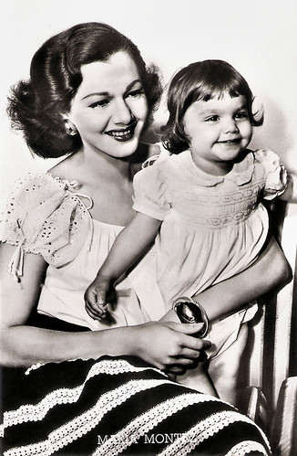 Maria Montez and Tina Aumont