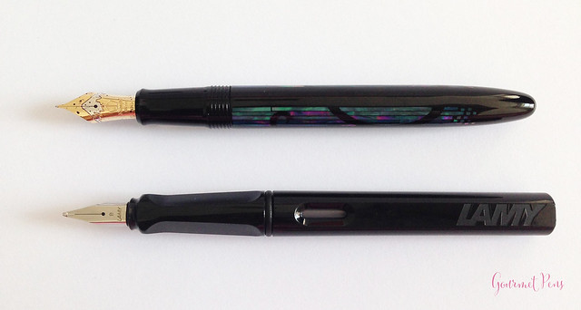 Review Namiki Yukari Nightline Moonlight Fountain Pen @CouronneDuComte (7)