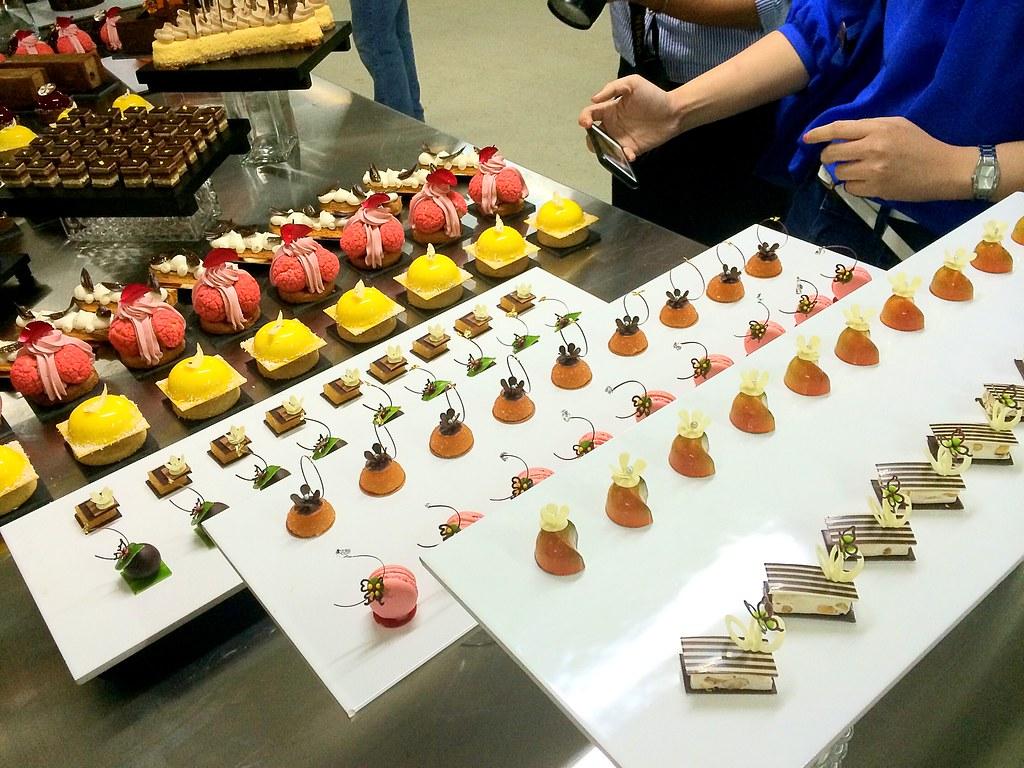 Heavenly chocolate desserts buffet spread