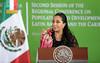 Segunda Reunión de la Conferencia Regional sobre Población y Desarrollo de América Latina y el Caribe. by Presidencia de la República Mexicana