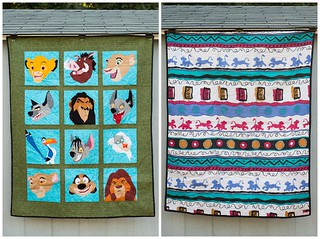 lion king baby quilt