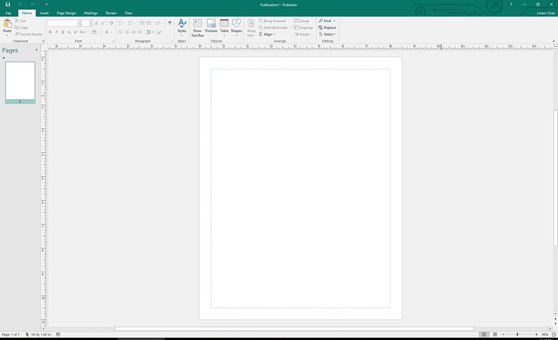 Publisher – Microsoft Office 2016 For Windows