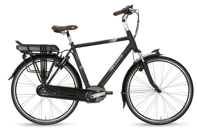 "Gazelle Orange C7+ • <a style=""font-size:0.8em;"" href=""https://www.flickr.com/photos/ebikereviews/21687965031/"" target=""_blank"">View on Flickr</a>"