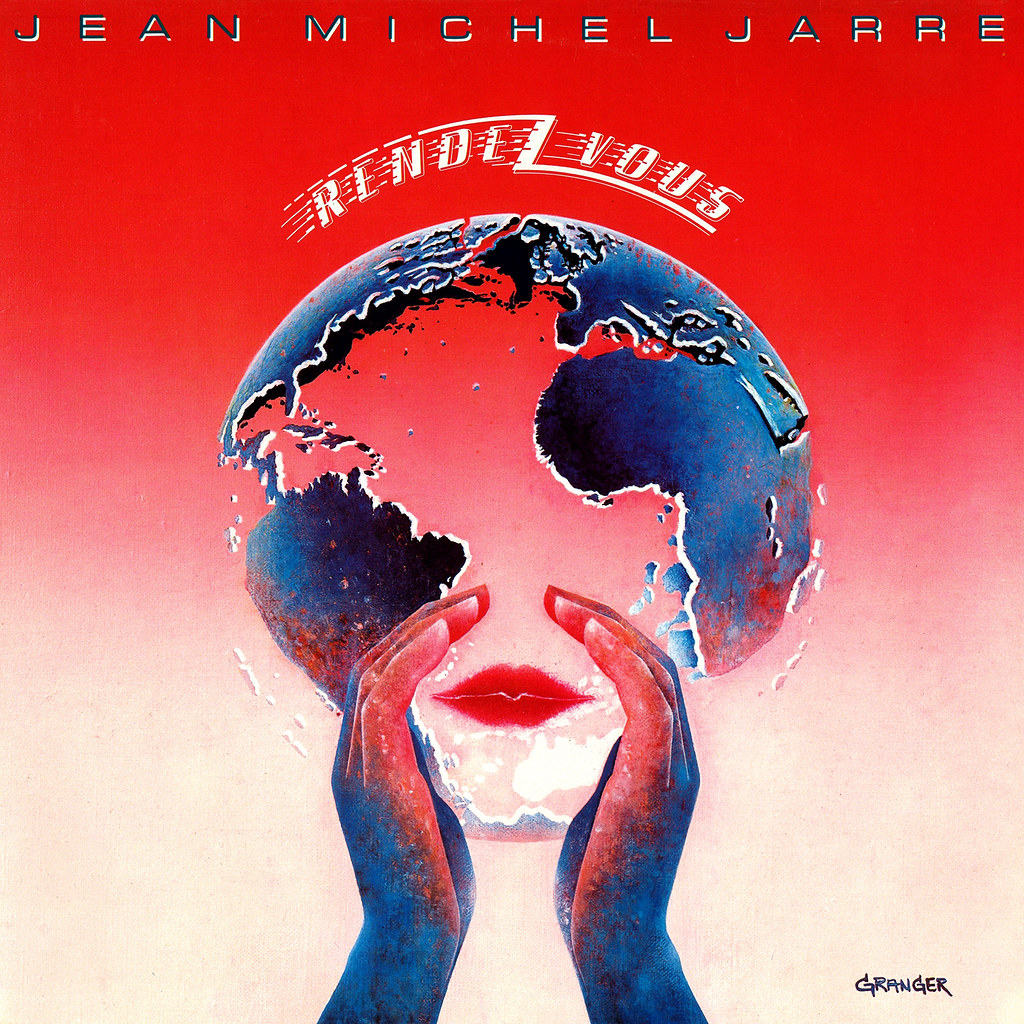 Jean Michel Jarre Lp Cover Art