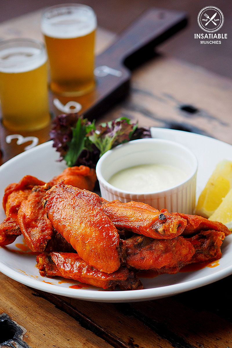 Sydney Food Blog Review of Rocks Brewing Co, Alexandria: Louisiana Hot Wings, $13.50/$22