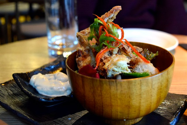 Tempura Soft Shell Crab at Murakami, Covent Garden | www.rachelphipps.com @rachelphipps