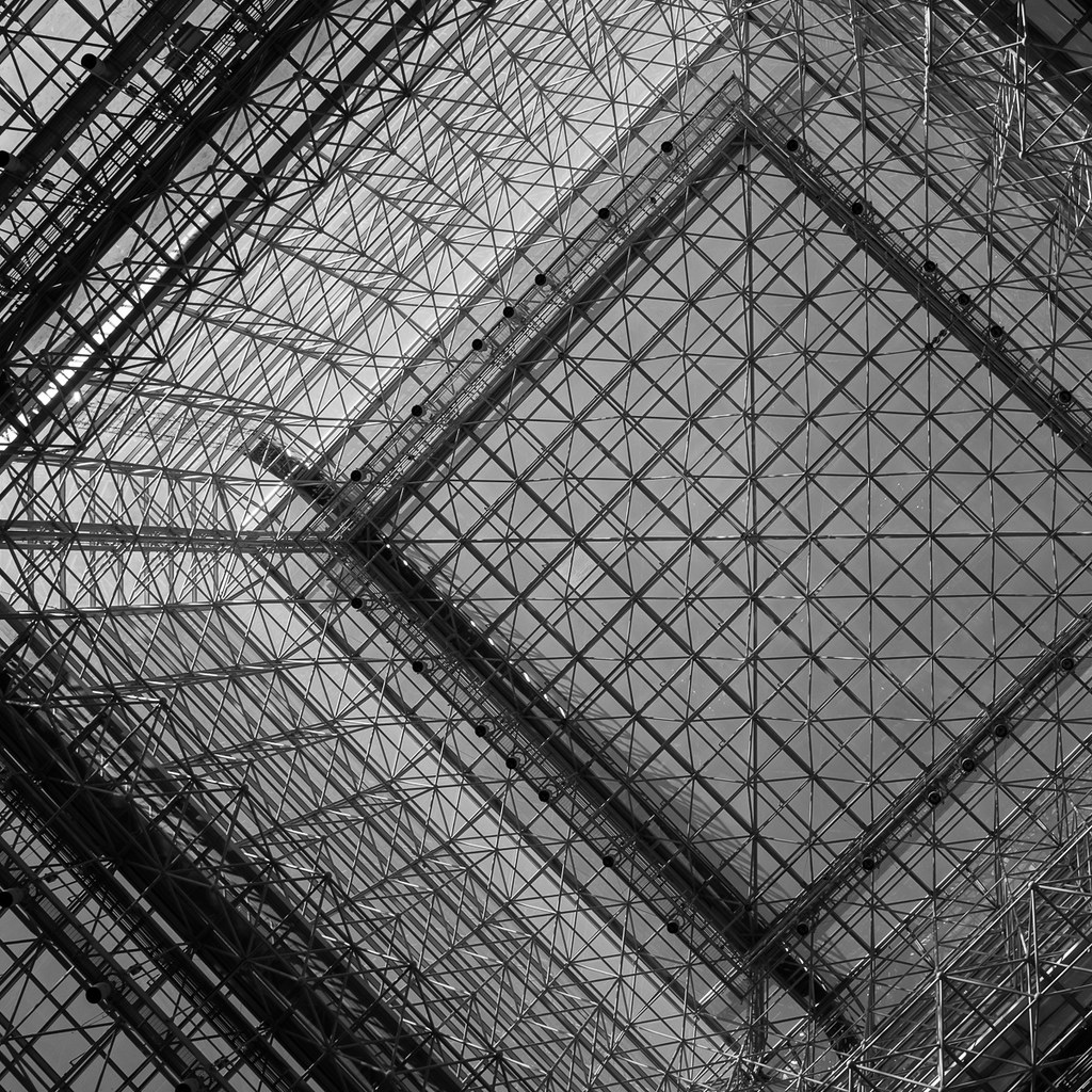 Looking up at Javits