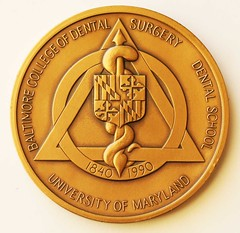 Baltimore College of Dental Surgery medal rev