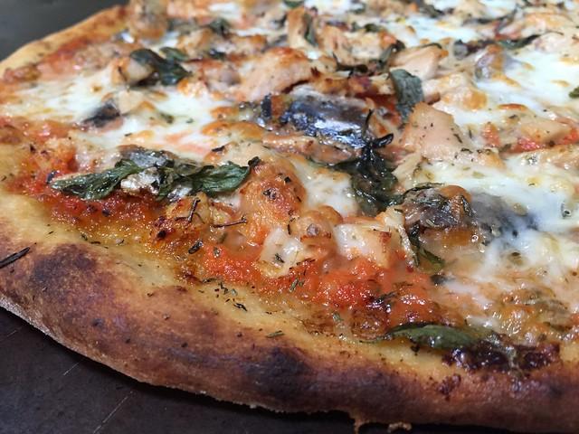 Sardine/Albacore Pizza