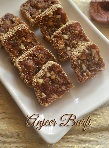 Anjeer Burfi Recipe
