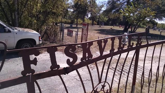 Fiskville Cemetery Entrance