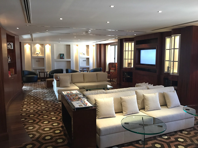 Club lounge - Sheraton Oman
