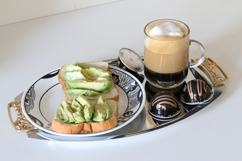 Nespresso-Swiss-Chocolate-coffee-avocado-toast-4