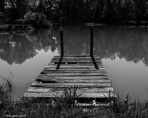 bw sc blackwhite dock unitedstates southcarolina waterreflections