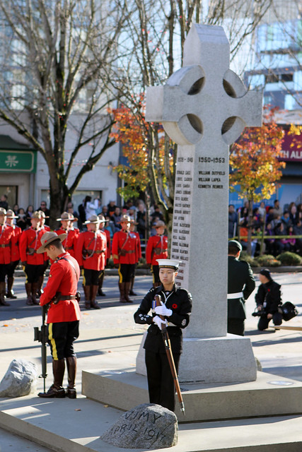 Richmond Area 2015 Remembrance Day Ceremony