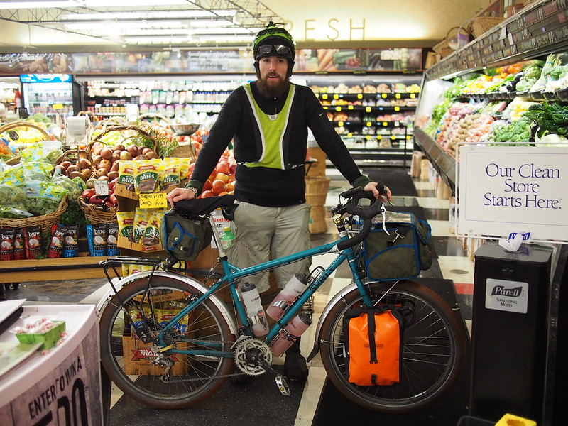 Neil & Beyond the Horizon in Issaquah: After a bad fall and some equipment damage, I gave up and phoned in a ride from my kind parents.  I waited for them at the Front Street Market, and dealt with hypothermia while doing so.