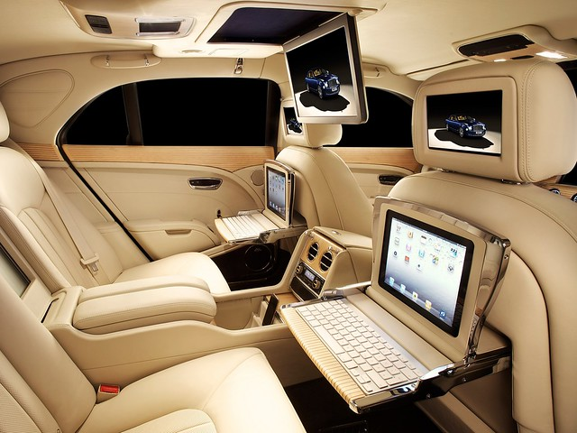 Салон Bentley Mulsanne Executive Interior. 2012 – 2016 годы