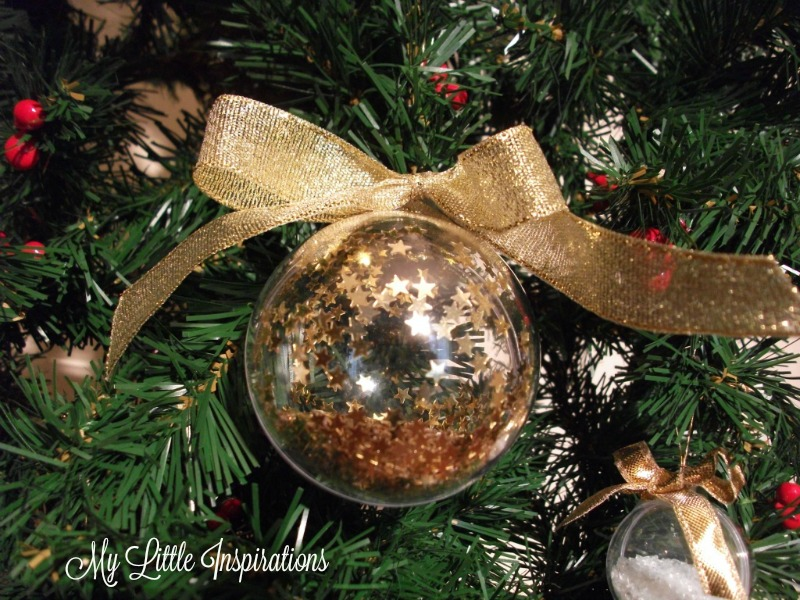 Clear Glass Ornaments MLI 4