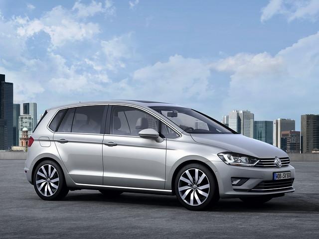 Volkswagen Golf Sportsvan Concept. 2013 год