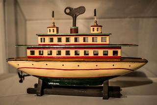 Ferry-boat mécanique - Fleischmann, Allemagne, 1908
