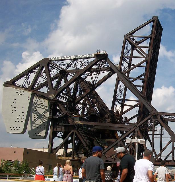 Cantilevered Railroad Bridge