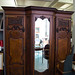 Large ornate wardrobe comes with mirror