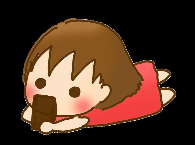 躺著滑手機