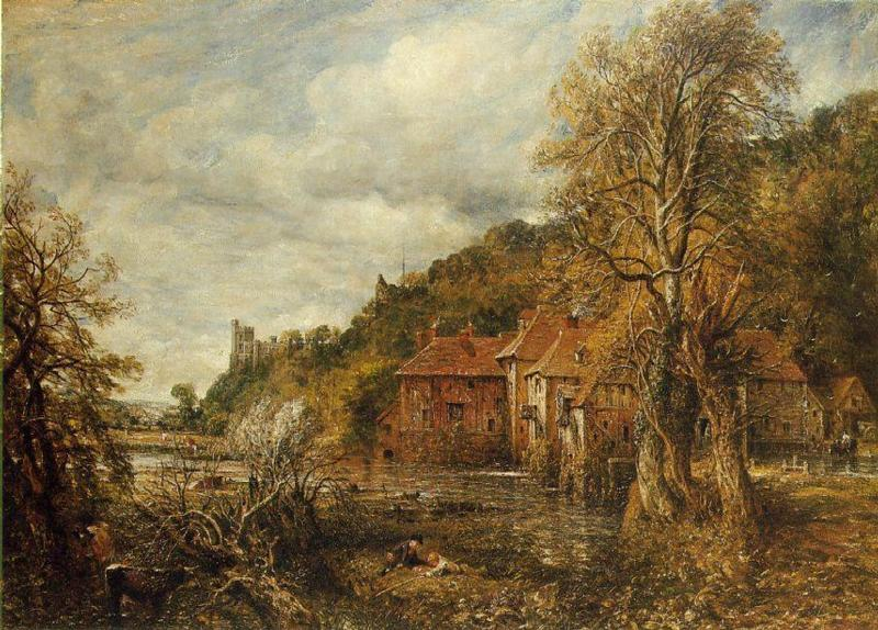 Arundel Mill and Castle by John Constable