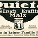 Werbeanzeige für Produkte der Quintawerke
