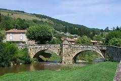 Le Mas d'Azil.Le pont Louis XIII.