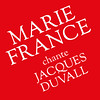 Marie France chante Jacques Duvall sticker
