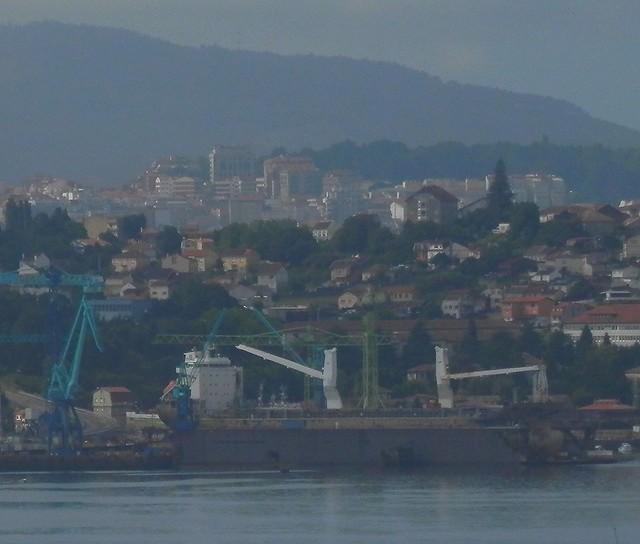 Puerto de Vigo estilo pintura