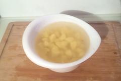 60 - Kartoffelwürfel in Wasser lagern / Store po…