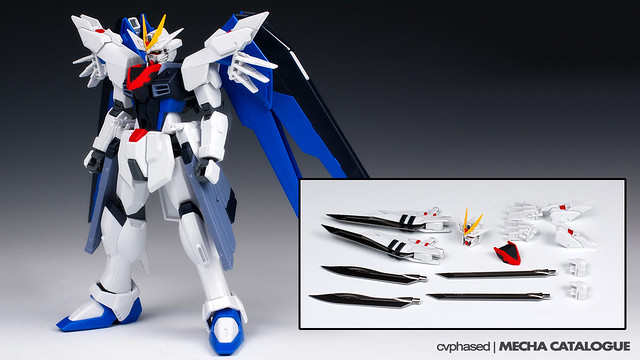 Plastic Crack - HGCE Freedom Gundam Custom Set