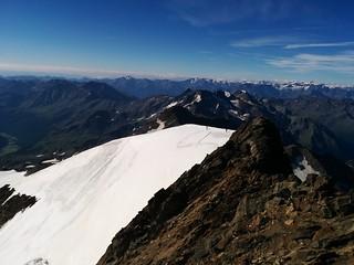 Gipfelausblick von der Weißkugel