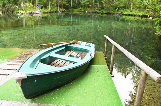 Boat, Badersee Lake, Grainau, Germany