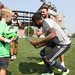 Kevin Alston and Jeremy Hall sign autographs at Revs Training