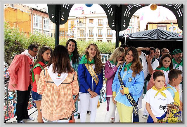 15 Bajada de blusas y chupinazo de Fiestas