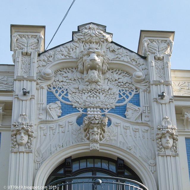 Jugendstilhaus Detail 5