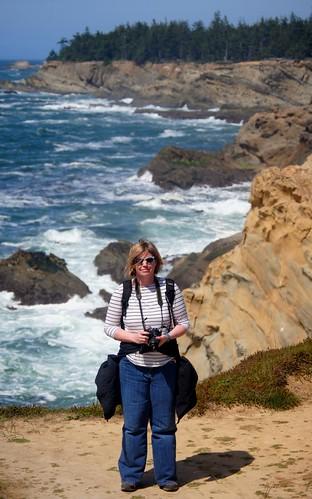 Angela on the Cliffs