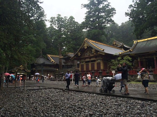 Nikko shrines and buildings