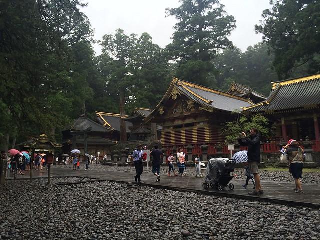 Nikko shrines and buildings