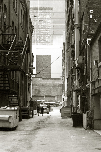 Back Alley off Yonge