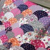 Last pic before its off to the quilter..#clambakequilt #clamshellquilt #paradisefabric