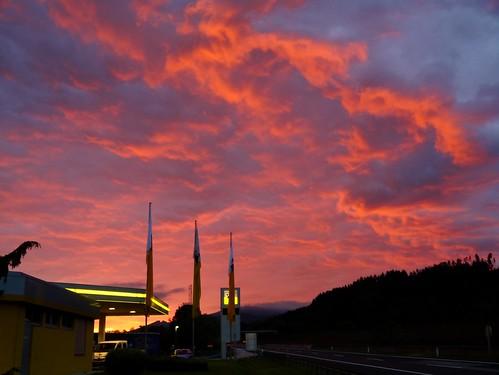 sky alps clouds sunrise dawn austria österreich himmel wolken alpen sonnenaufgang steiermark autriche styria morgenrot mürztal sanktmarein wanderung20150728