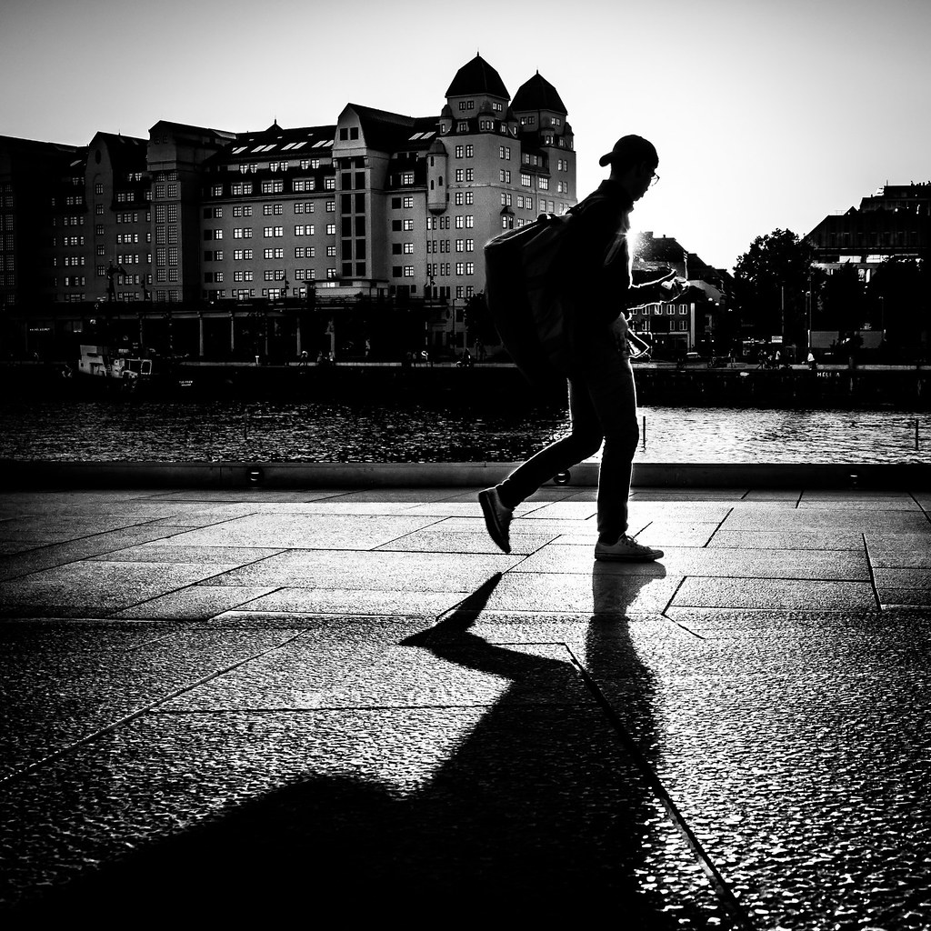 Against the sun, Oslo, Norway picture